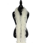 "2 ply 72"" Ivory Ostrich Feather Boa"