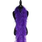 "2 ply 72"" Purple Ostrich Feather Boa"