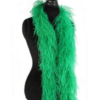 "3 ply 72"" Emerald Green Ostrich Feather Boa"