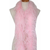 "3 ply 72"" Baby Pink Ostrich Feather Boa"
