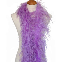 "3 ply 72"" Lavender Ostrich Feather Boa"