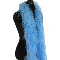"3 ply 72"" Periwinkle Ostrich Feather Boa"