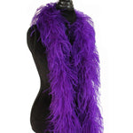 "3 ply 72"" Purple Ostrich Feather Boa"