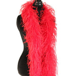 "3 ply 72"" Red Ostrich Feather Boa"