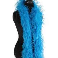 "3 ply 72"" Turquoise Ostrich Feather Boa"