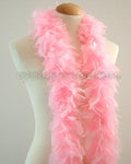 45 Grams Baby Pink Chandelle Feather Boa