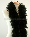 45 Grams Black Chandelle Feather Boa