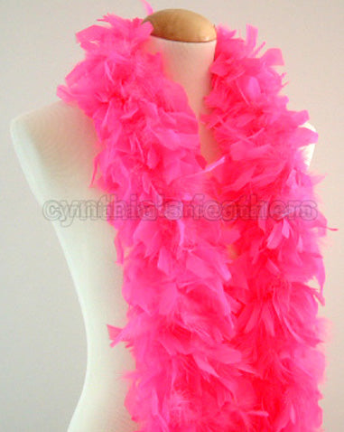 45 Grams Hot Pink Chandelle Feather Boa