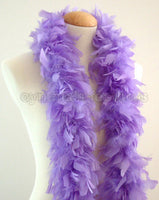 45 Grams Lavender Chandelle Feather Boa