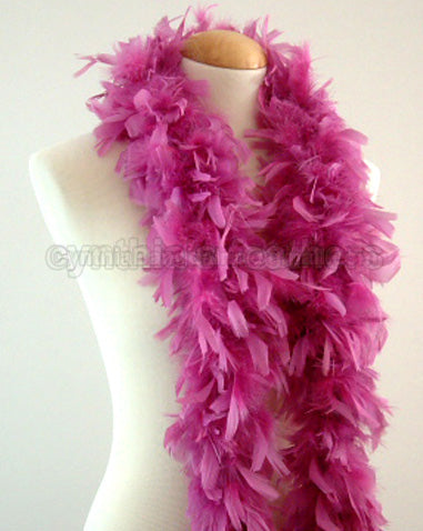45 Grams Mauve Pink Chandelle Feather Boa