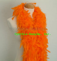 45 Grams Orange Chandelle Feather Boa