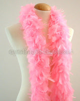 45 Grams Candy Pink Chandelle Feather Boa