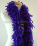 45 Grams Regal Purple Chandelle Feather Boa