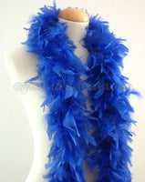 45 Grams Royal Blue Chandelle Feather Boa