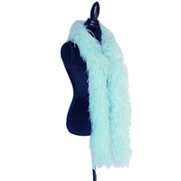 "4 ply 72"" Aqua Ostrich Feather Boa"