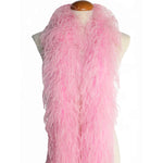"4 ply 72"" Baby Pink Ostrich Feather Boa"