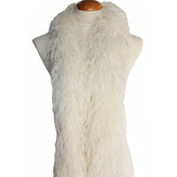 "4 ply 72"" Ivory Ostrich Feather Boa"