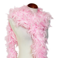 65 Grams Baby Pink Chandelle Feather Boa