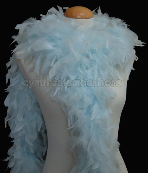 65 Grams	Mist Blue Chandelle Feather Boa