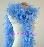 65 Grams Light Blue Chandelle Feather Boa
