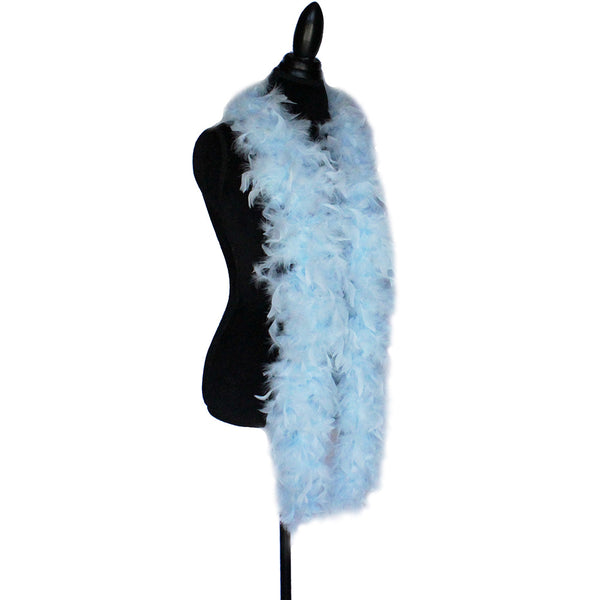 65 Grams Sky Blue Chandelle Feather Boa
