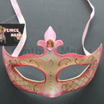 Venetian Mask, Dusty Rose  Venetian  Masquerade Mask 6I8A  SKU: 6D52
