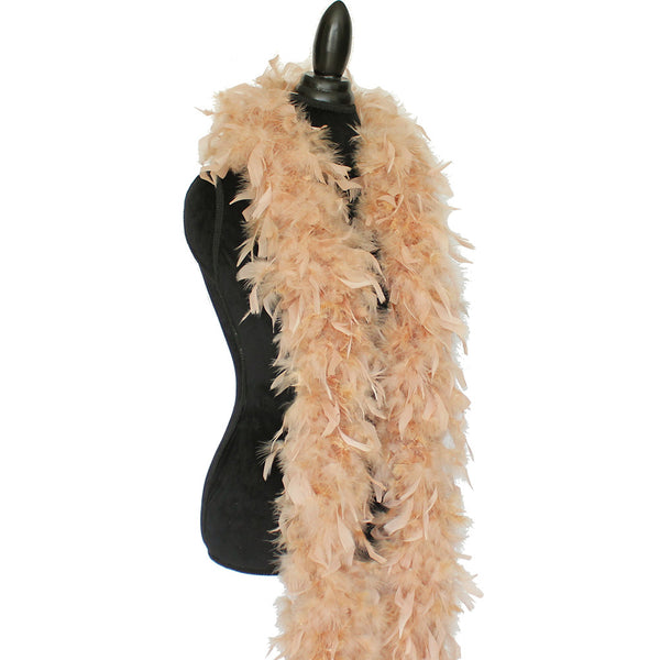 80 Grams Camel Chandelle Feather Boa