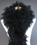 80 Grams Black Chandelle Feather Boa