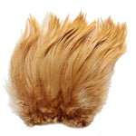 "5-7"" Ginger Rooster Hackle Feathers for Crafting, Headpiece,  7.5 Grams"