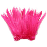 "5-7"" Mauve Pink Rooster Hackle Feathers for Crafting, Headpiece,  7.5 Grams"
