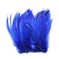 "5-7"" Royal Blue Rooster Hackle Feathers for Crafting, Headpiece,  7.5 Grams"