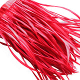 Goose Feather Trim Red Goose Biot Feather Trim Crafting Millinery Fly Tying