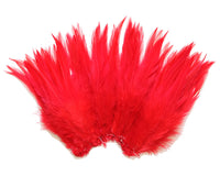 "5-7"" Red Rooster Saddle Feathers for Crafting, Headpiece,  ~9g, 0.32Oz"