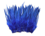 "5-7"" Royal Blue Rooster Saddle Feathers for Crafting, Headpiece,  ~9g, 0.32Oz"