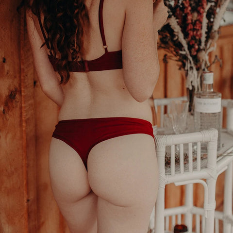 Gina thong in garnet