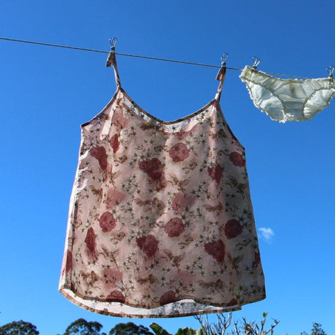 organic cotton sleepwear in floral print