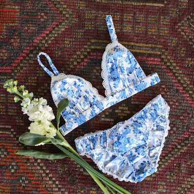 Bella china doll bralette - 100% cotton - Eco Intimates