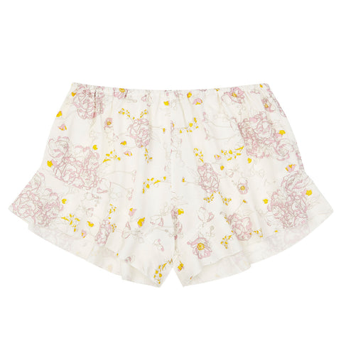 Frances boxers - bamboo in peony print