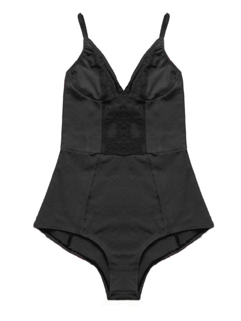black organic cotton bodysuit, cotton bodysuit, organic cotton lingerie