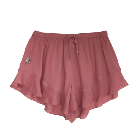 Frances boxers in dusty rose