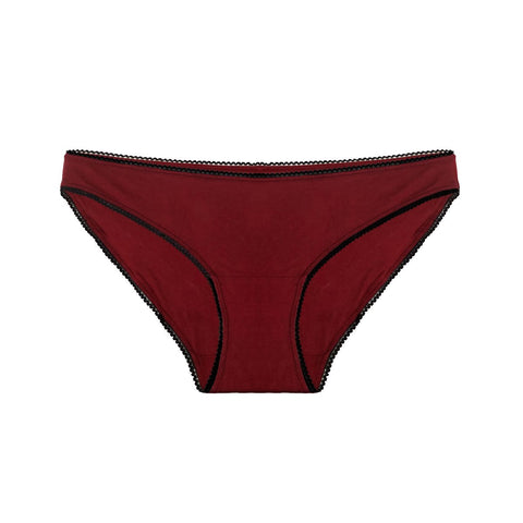 Hipster basic briefs in organic cotton (4 colours) - Eco Intimates
