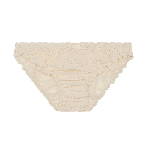 Georgia ruffle knickers in ivory ecru