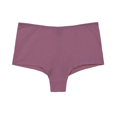 high waited knickers in pink organic cotton