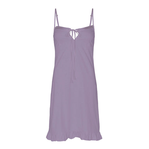 organic cotton slip dress in lavender, organic cotton clothing, organic