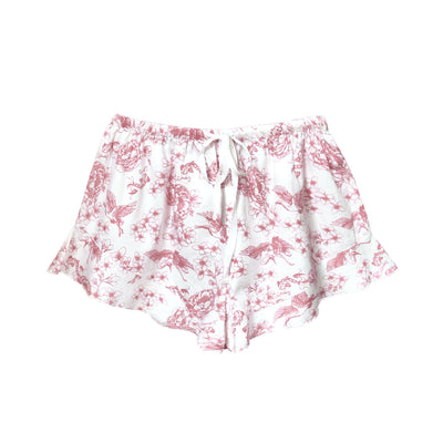 Frances boxers in pink chinoiserie