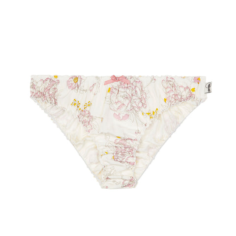 mamboo knickers in floral print, bamboo underwear