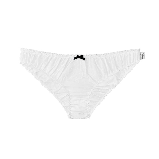 Raquel cotton ruffle knickers