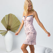 Marion slip - organic cotton in blush