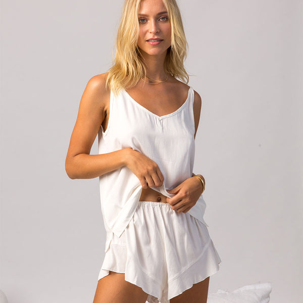 Bamboo Frances PJs in Natural
