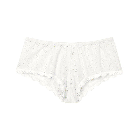Georgia french knickers in white